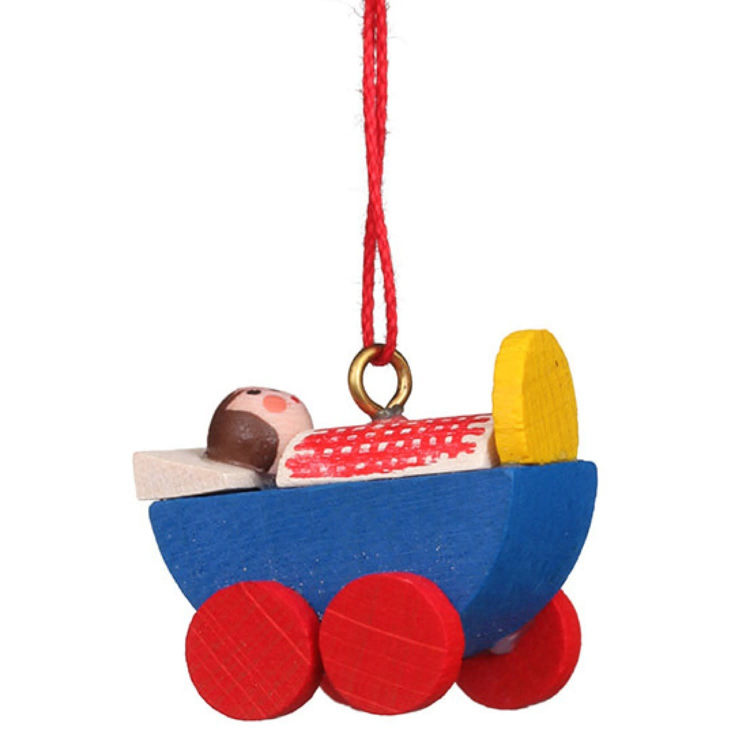 10-0085 Christian Ulbricht Ornament - Baby Carriage