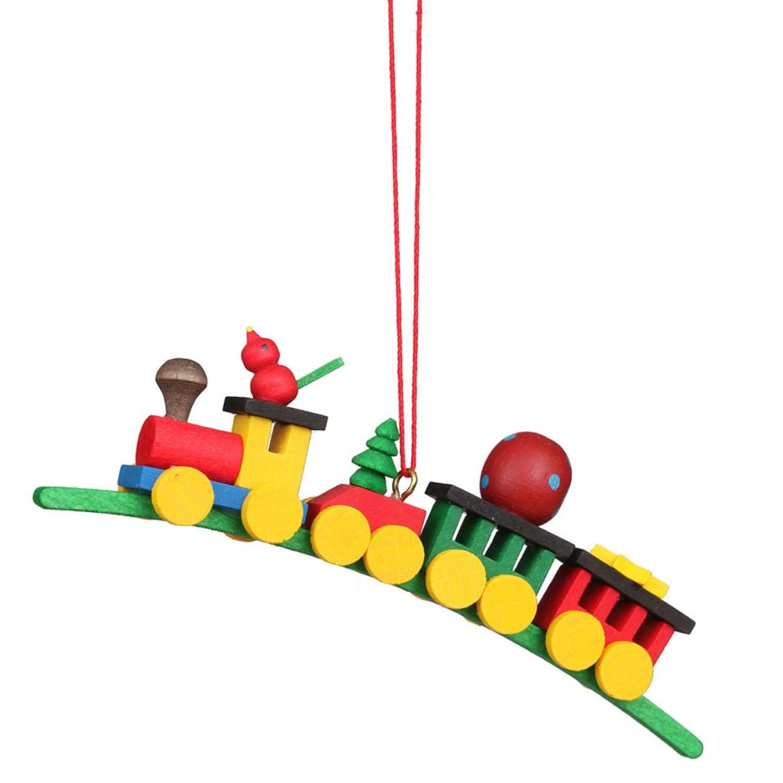 10-0137 Ornament - Train on Arch