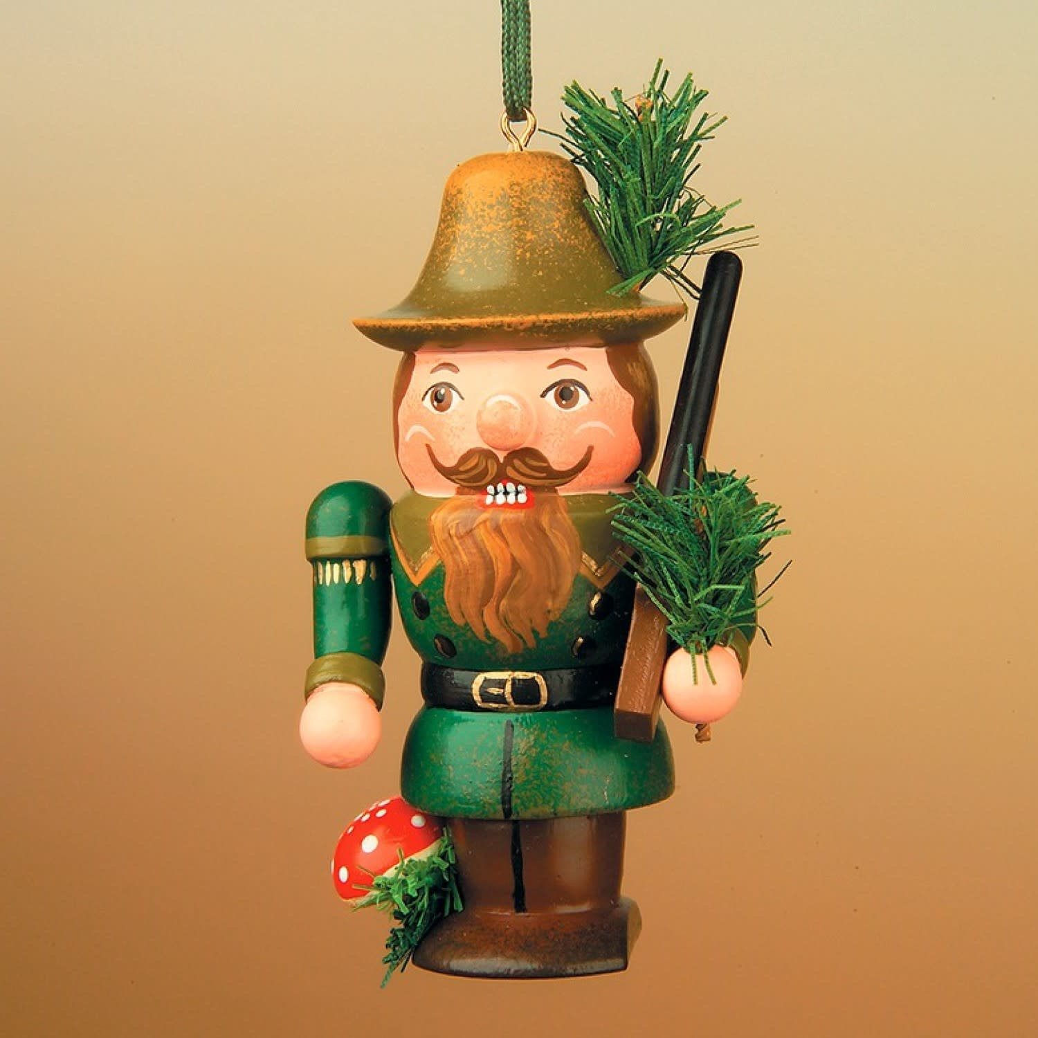 130h0006 Nutcracker Forester  - 2.75 inches high