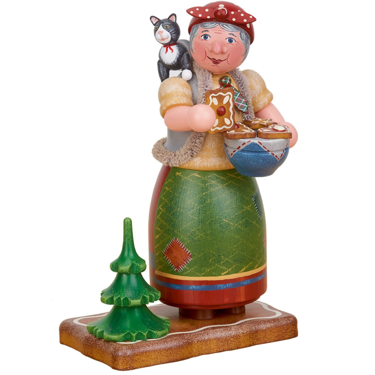 105h5009  Gingerbread Witch-Smoker