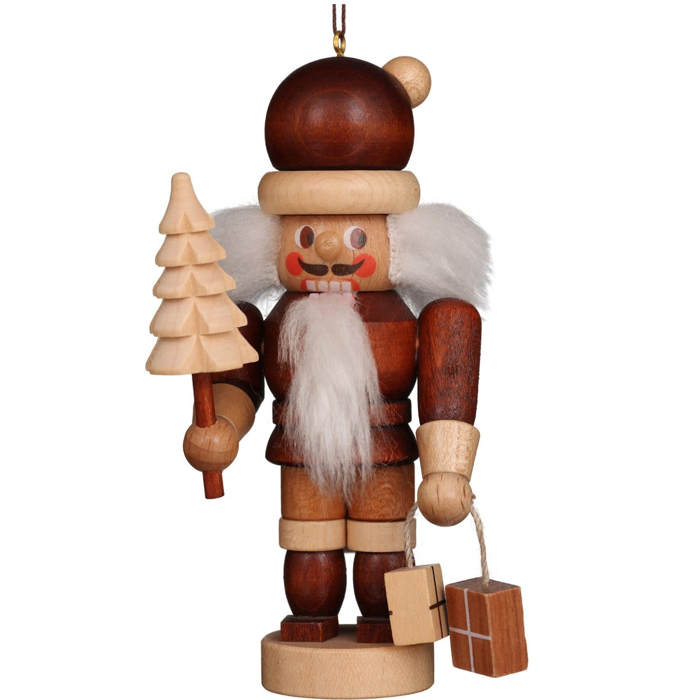13-0603 Santa Ornament (Natural)