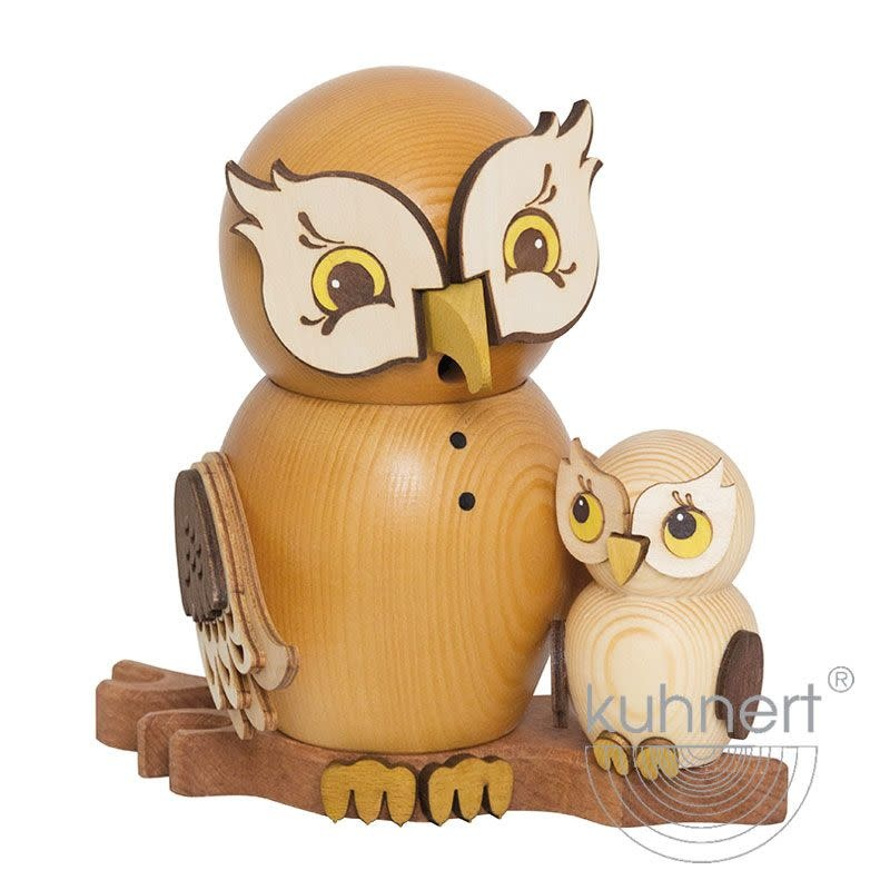 Kuhnert 37216 Incense Smoker Owl - with Child
