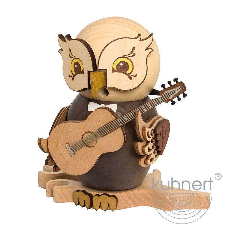 Kuhnert 37220 Incense Smoker Owl - with Guitar
