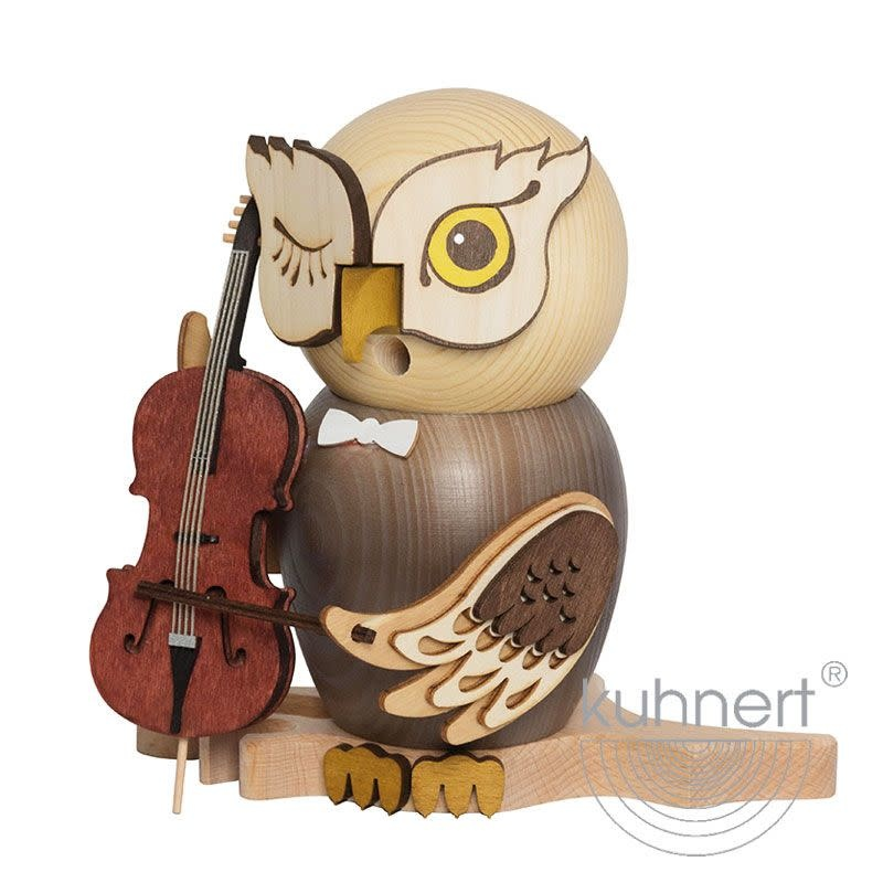 Kuhnert 37217 Incense Smoker Owl - with Cello