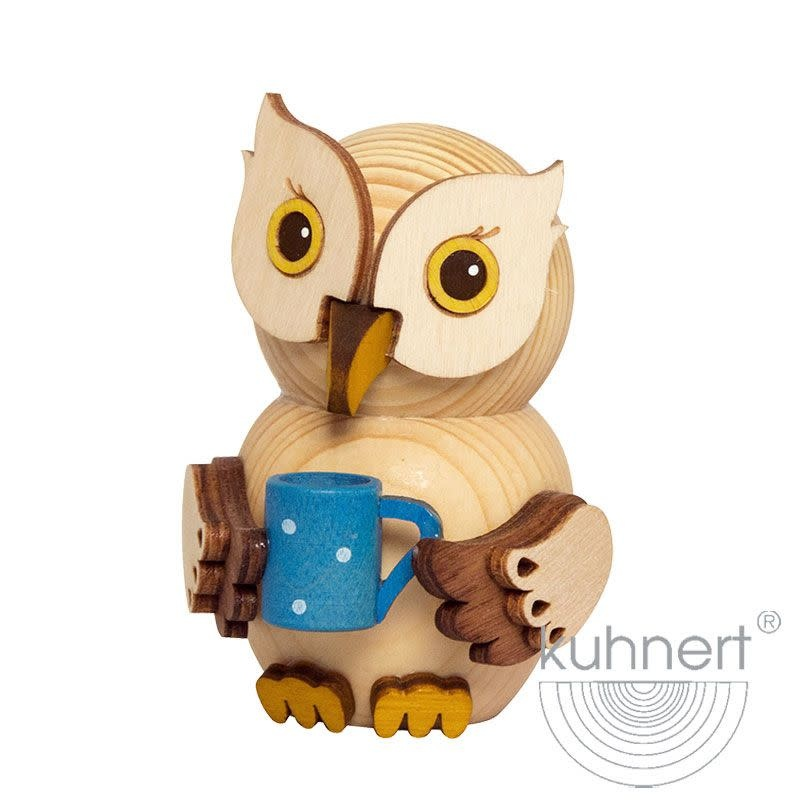 Kuhnert 37303 Mini Owl With Cup Figurine