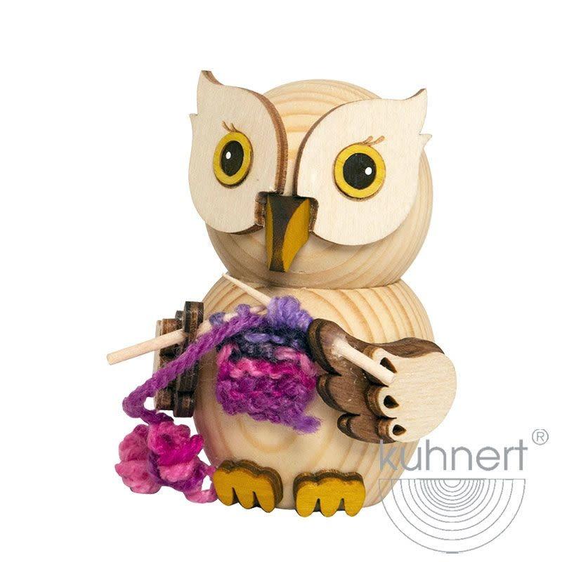37305 Mini Owl Knitting Figurine