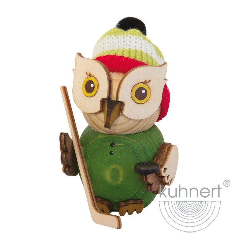 Kuhnert 37312 Mini Owl Ice Hockey Figurine