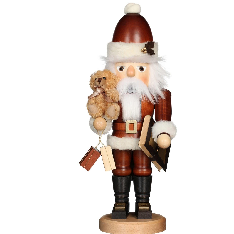 32-965 - Christian Ulbricht Nutcracker - Santa with Teddy