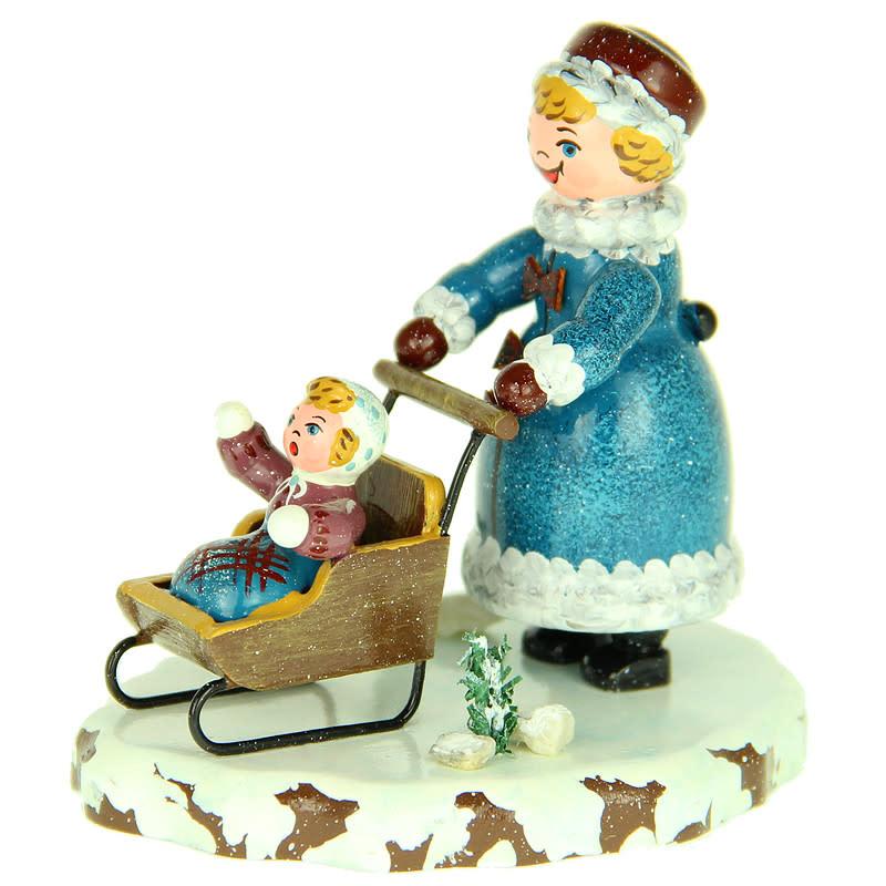 110h1010 Winter Children - Girls Sledge with Children - 3 inches high