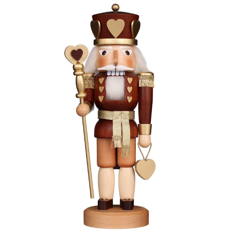 32-320  Ulbricht Nutcracker - King of Hearts (Natural)