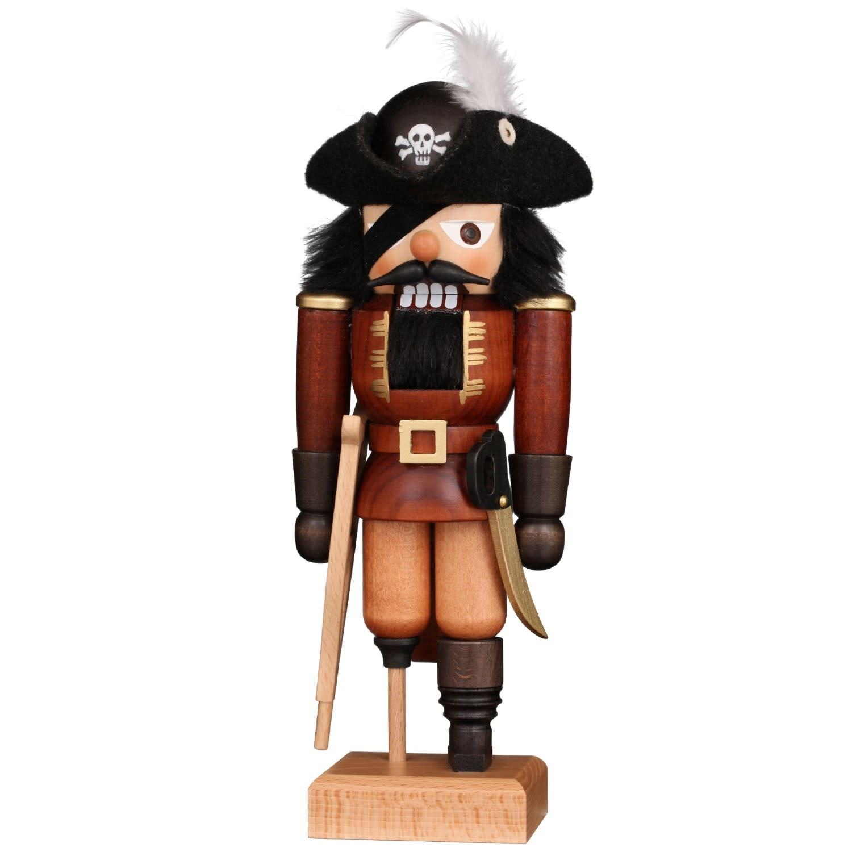32-694 Nutcracker - Pirate (Natural)
