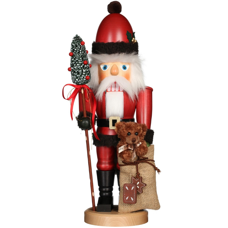 32-816 Ulbricht Nutcracker - Santa with Teddy