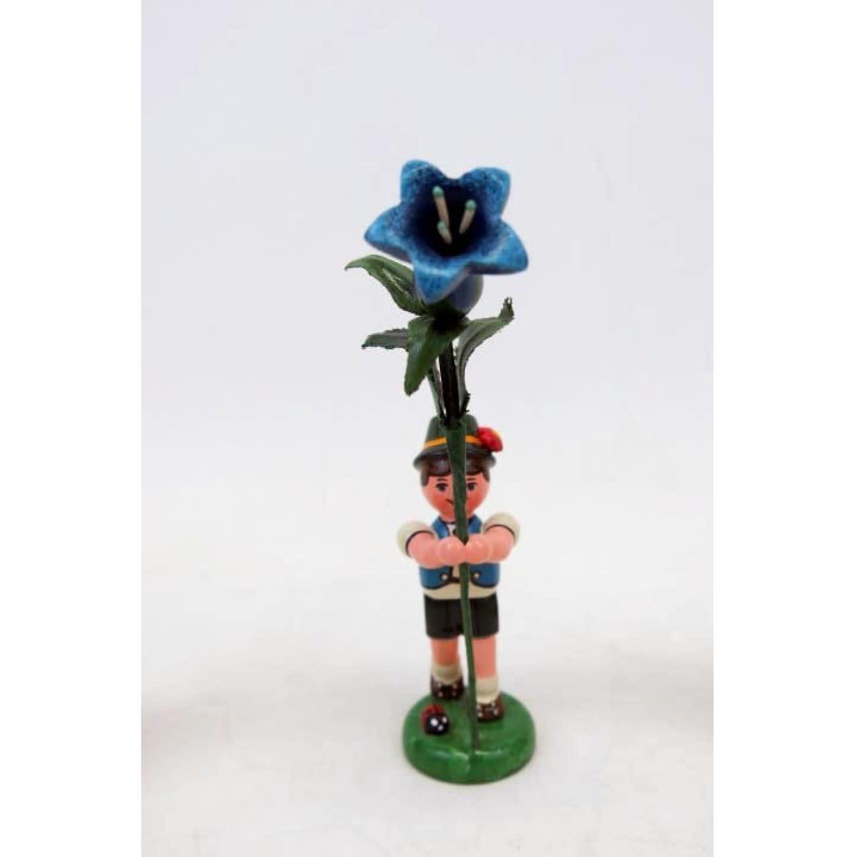 308h0005 FlowerChildren-Boy with Genetian