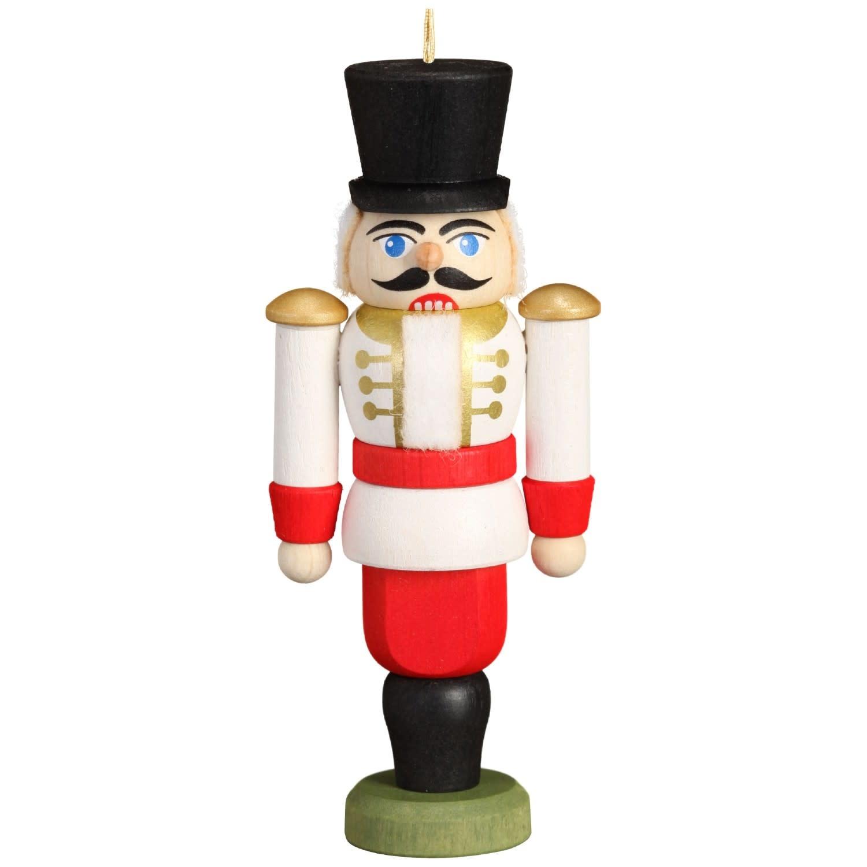 11612/3 Husar White Nutcracker Ornament