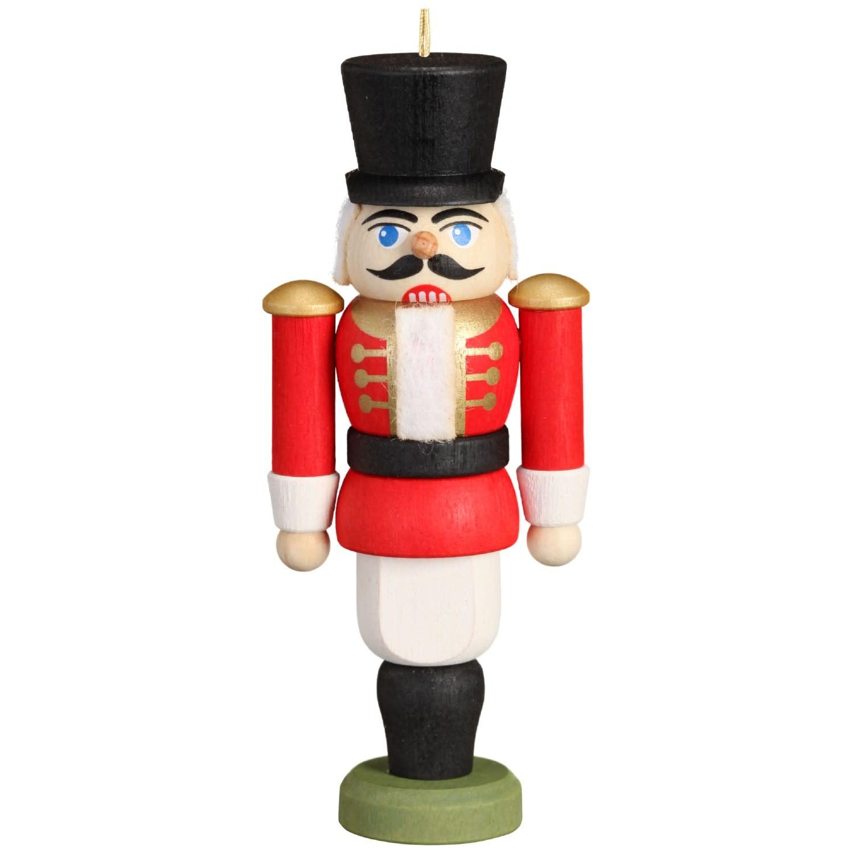 11612/1 Husar Red Nutcracker Ornament