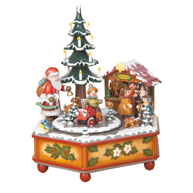 104h3003 Hubrig Music Box Christmas time