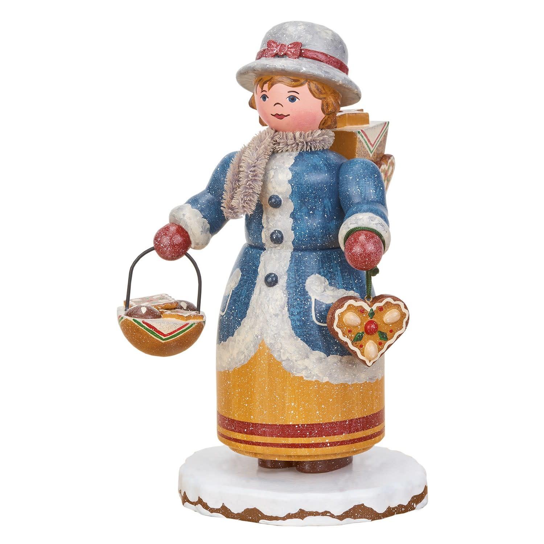 105h4010 Winter Children -Gingerbread Merchant-Smoker