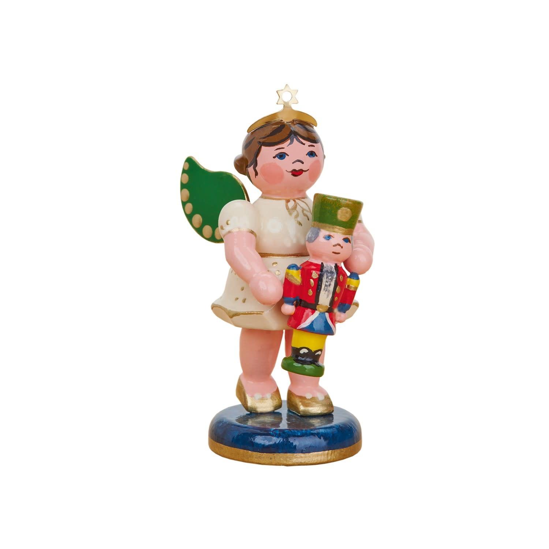 121h0104 Hubrig Angel with Nutcracker