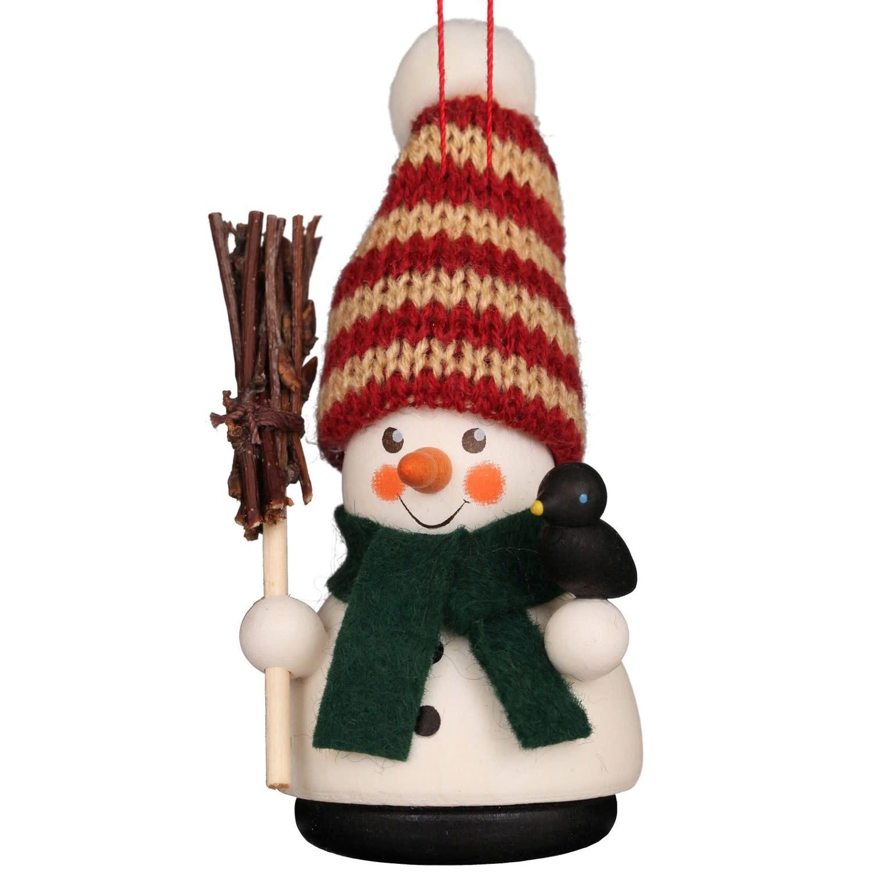 15-0406 Ulbricht Ornament-Snowman (Wobble)
