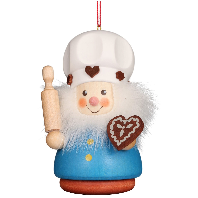 15-0401 Gingerbread Baker Ornament (Wobble)