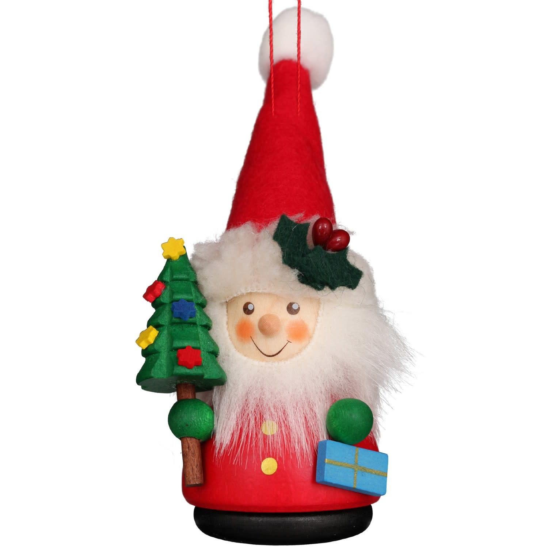 15-0400 Santa Ornament (Wobble)