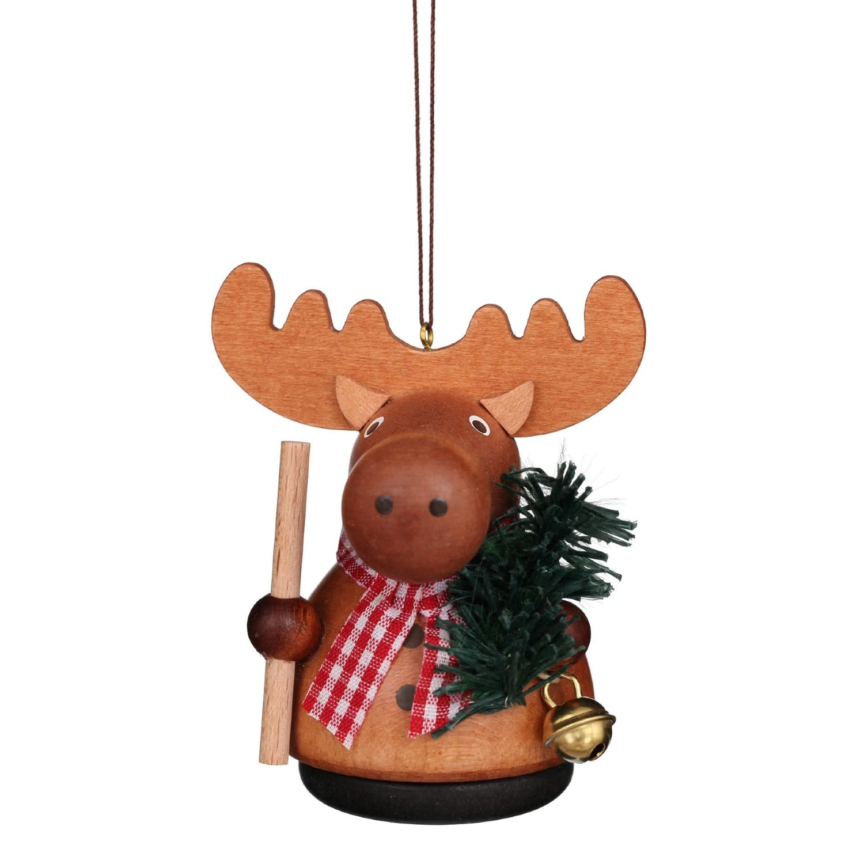 15-0215 Moose Ornament (Wobble)
