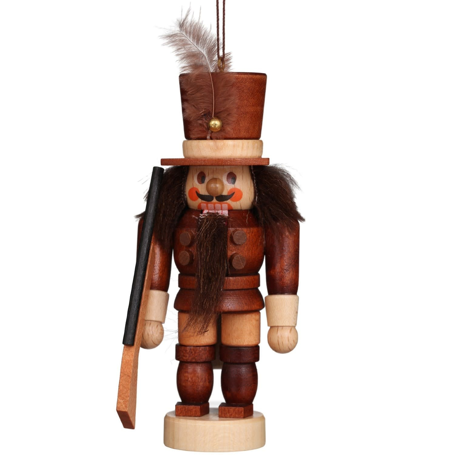 13-0601 Soldier Ornament (Natural)