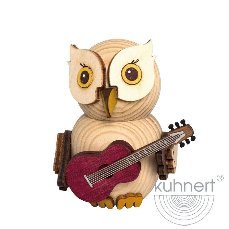 Kuhnert 37315 Mini  Owl Guitar Figurine