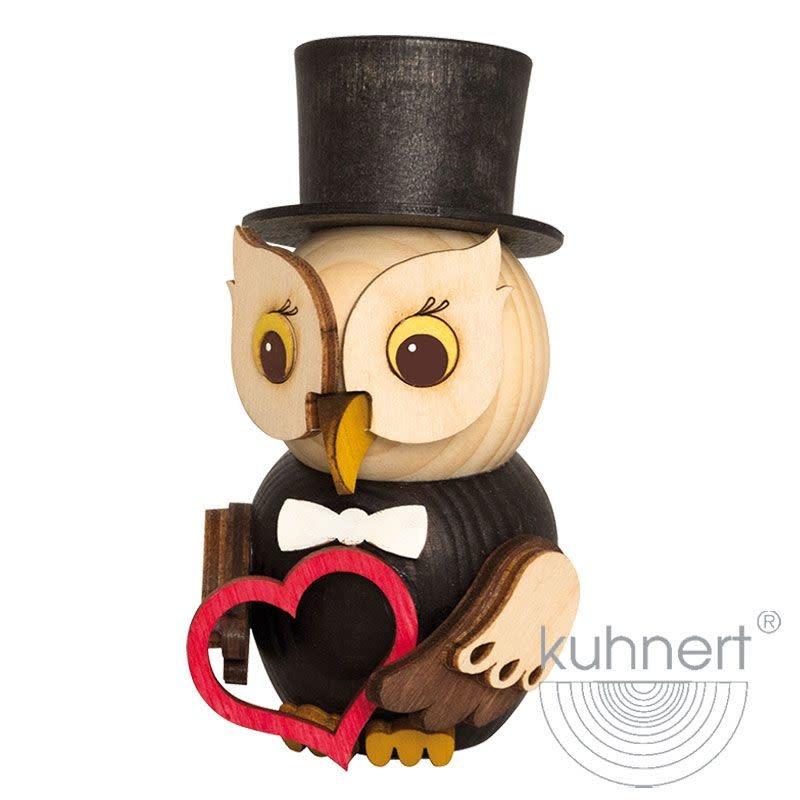 Kuhnert 37319 Mini  Owl Bridegroom Figurine
