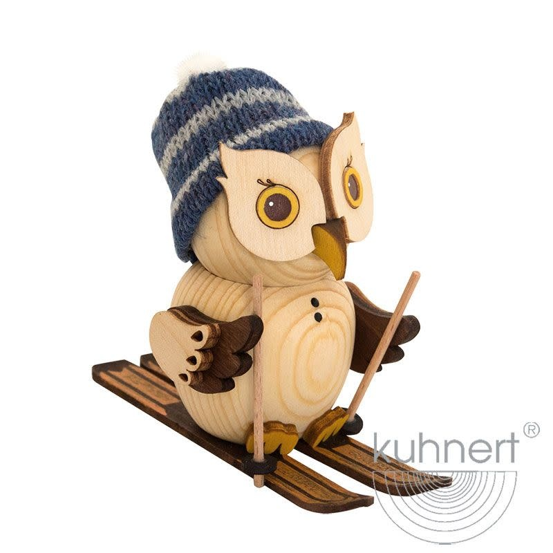 Kuhnert 37322 Mini  Owl Ski Figurine