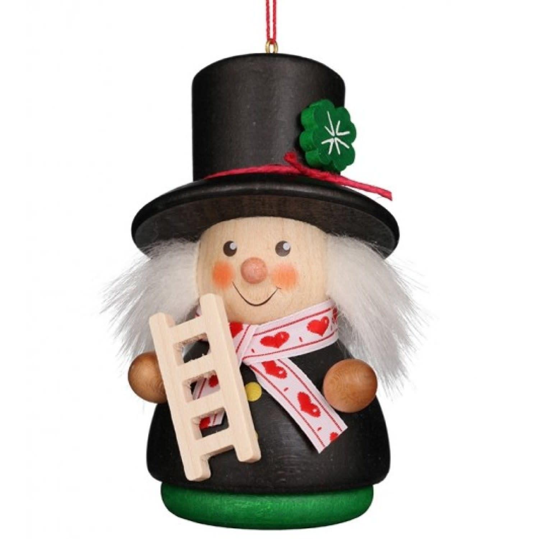 15-0411 - Ulbricht Ornament - Chimney Sweep (Wobble)