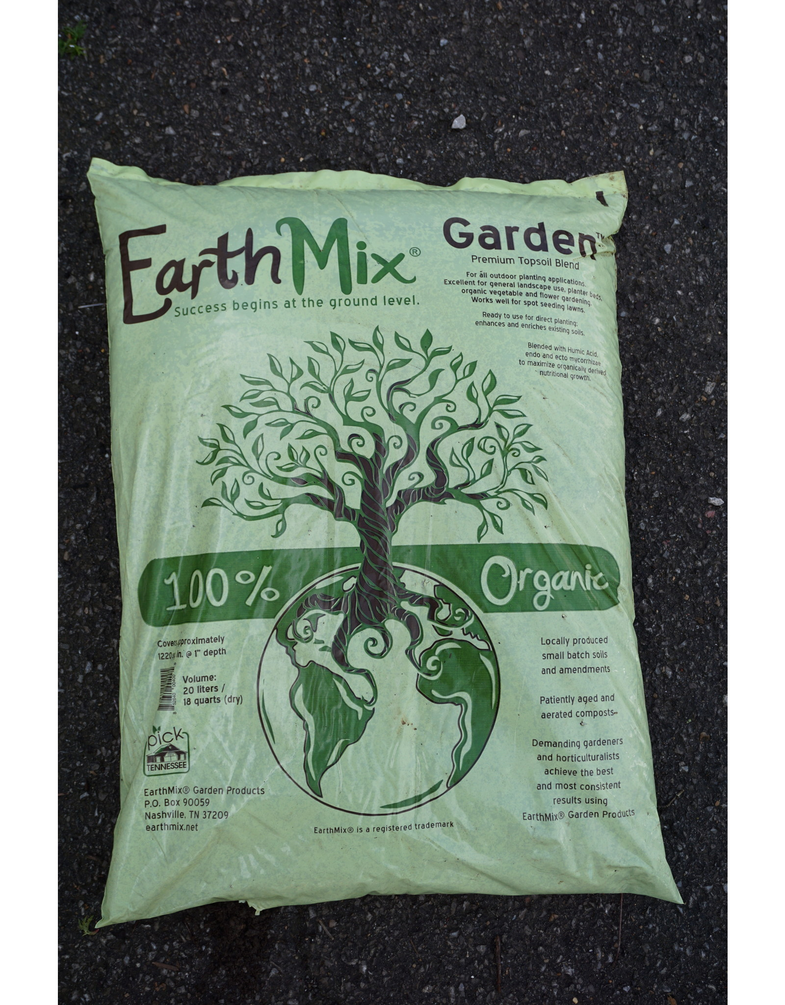 Premium Top Soil, Earthmix - 20L