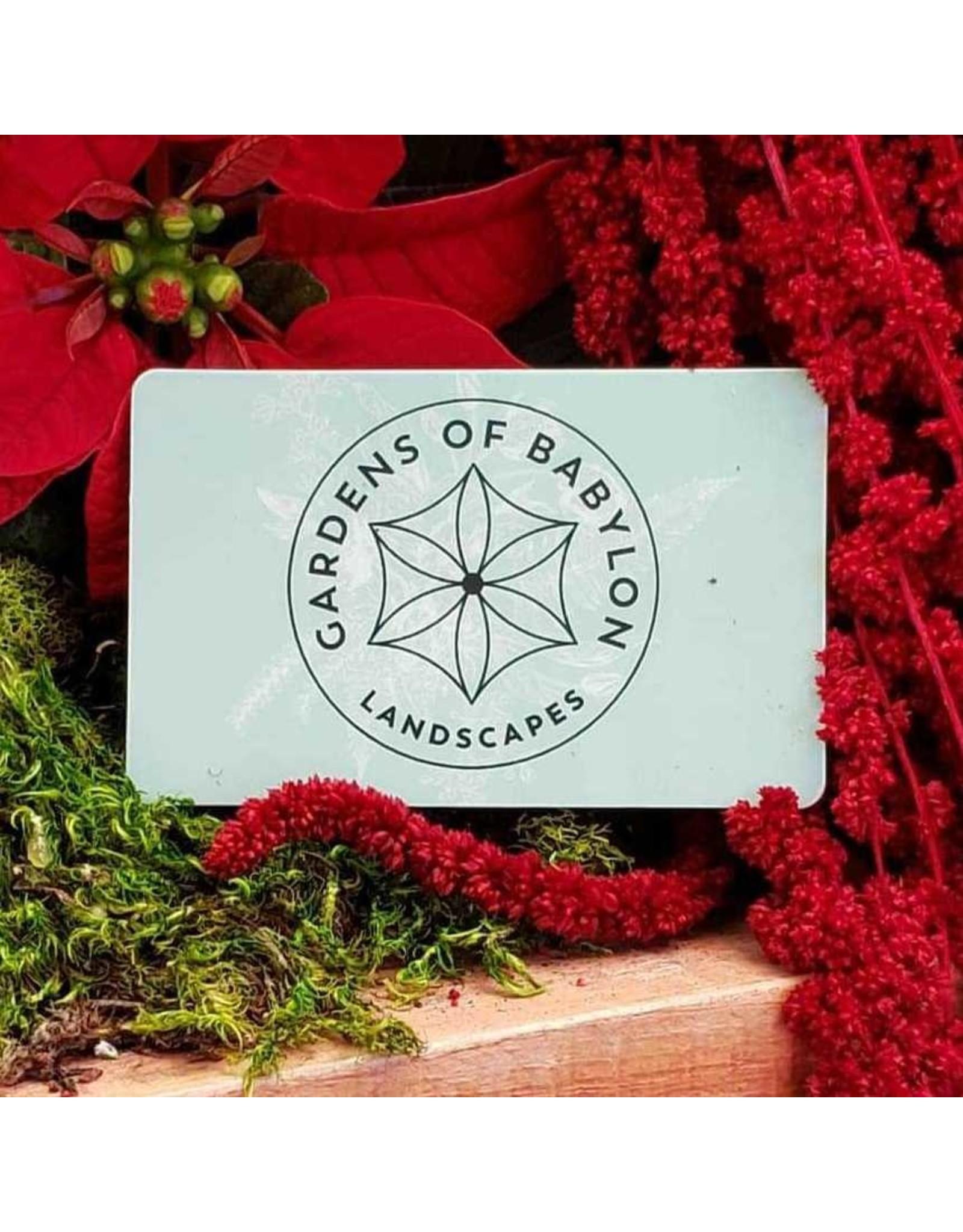 Gardens of Babylon Gift Card