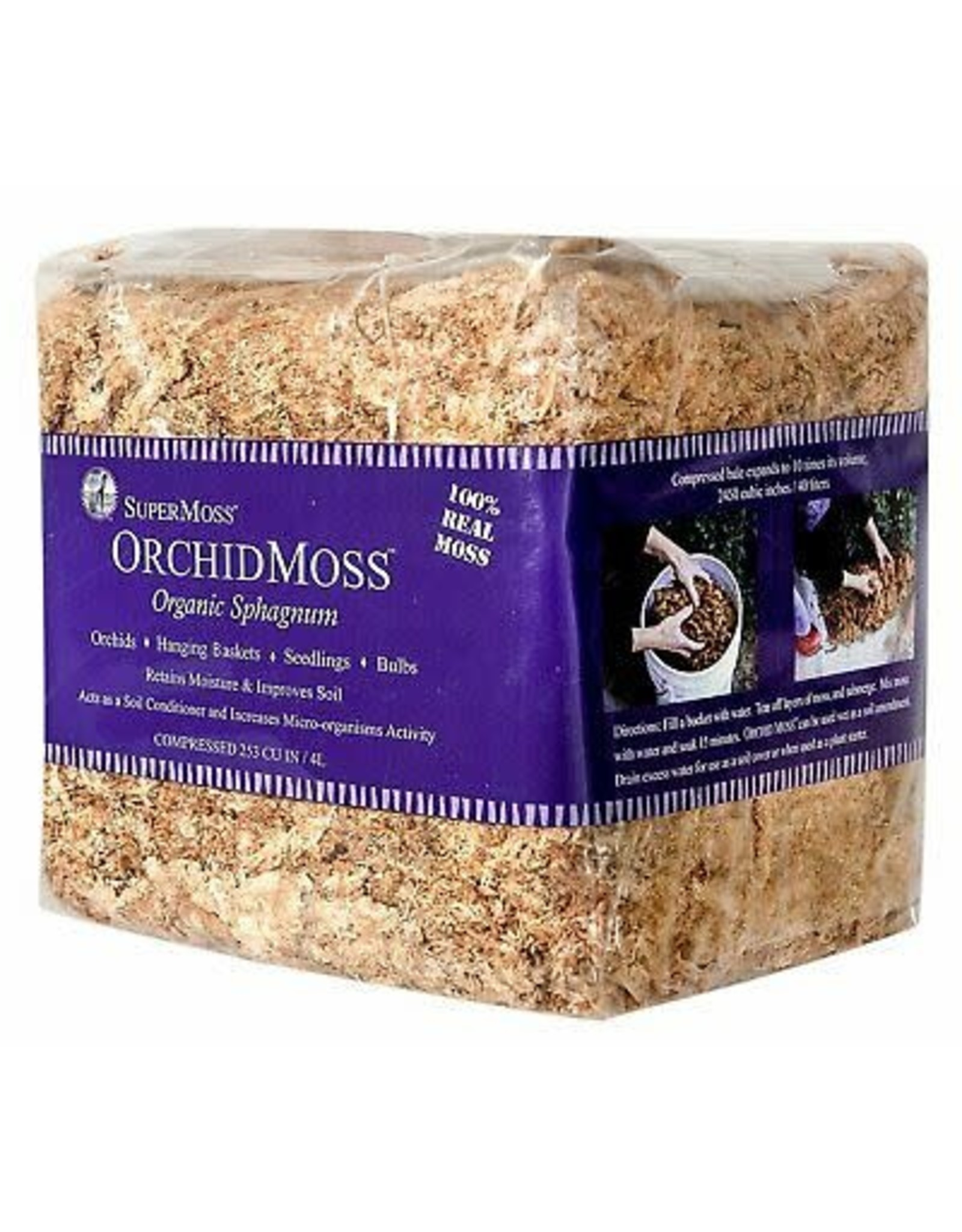 Sphagnum Moss - Mini Bale