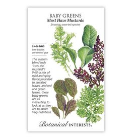 Seeds - Baby Greens - Must Have Mustards