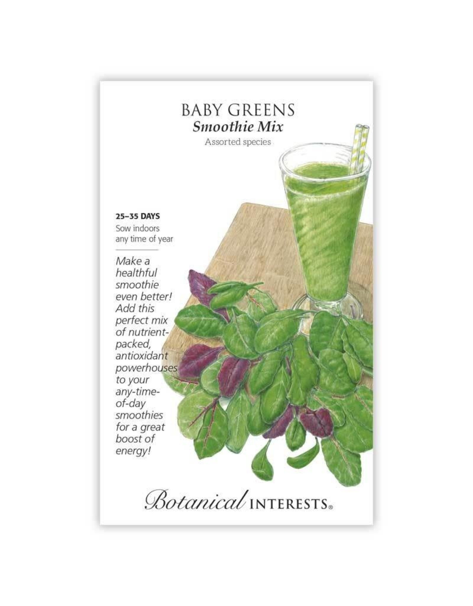 Seeds - Baby Greens Smoothie Mix, Large