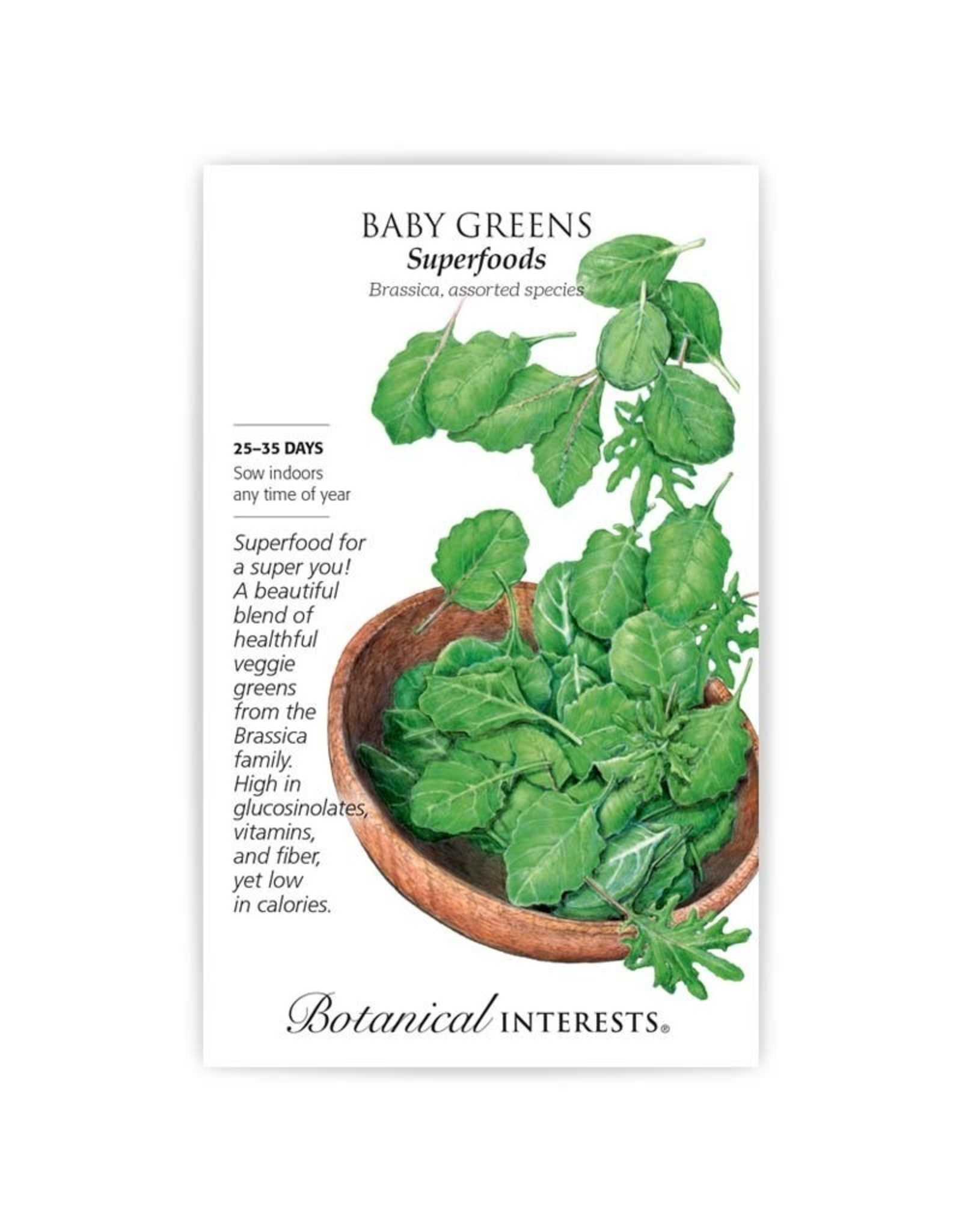 Seeds - Baby Greens Superfoods Mix, Large
