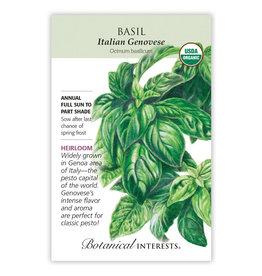 Seeds - Basil Italian Genovese Org