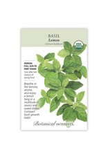 Seeds - Basil Lemon Organic
