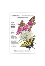 Seeds - Butterfly Flower Milkweed Irrsesitible Blend