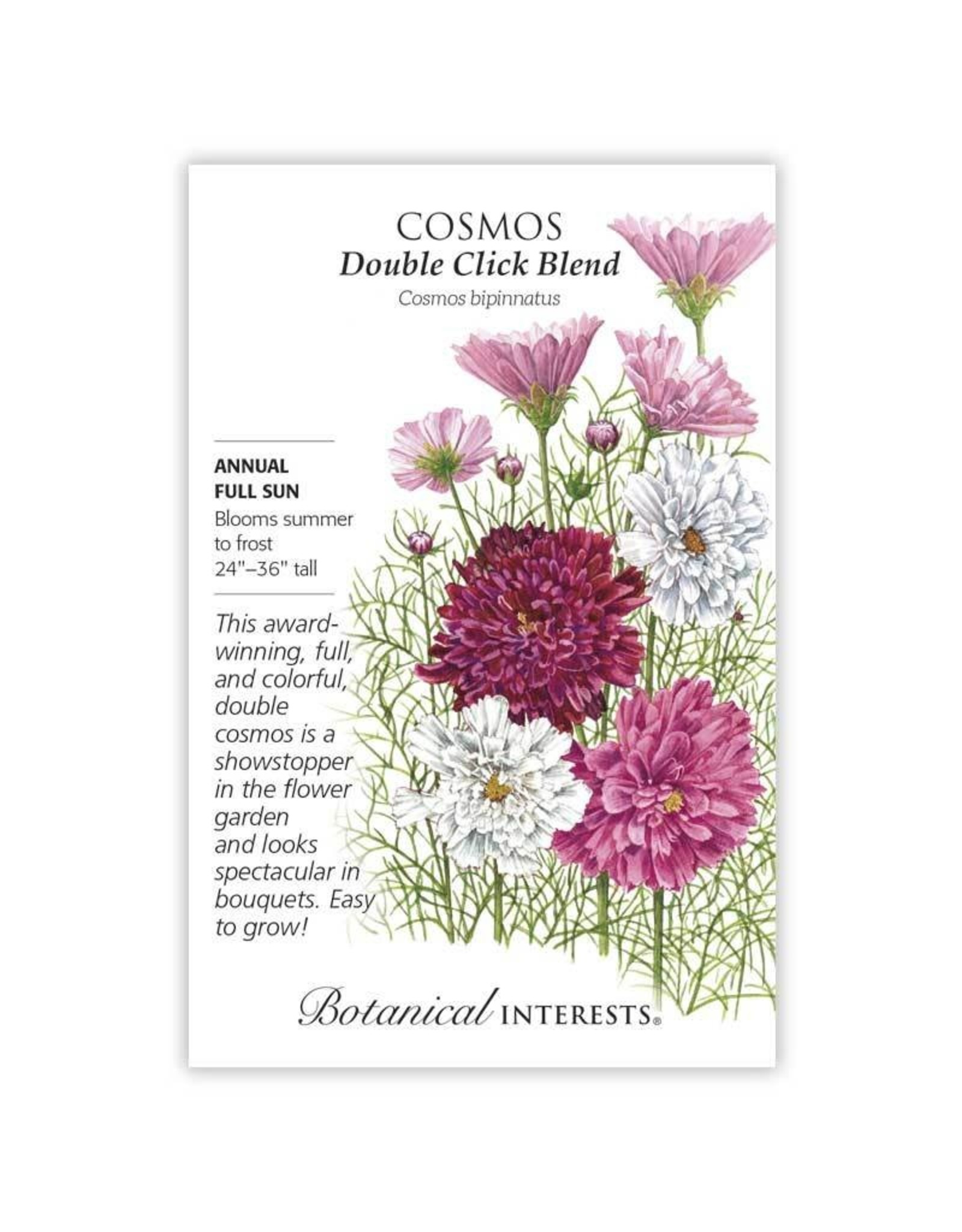 Seeds - Cosmos Double Click Blend
