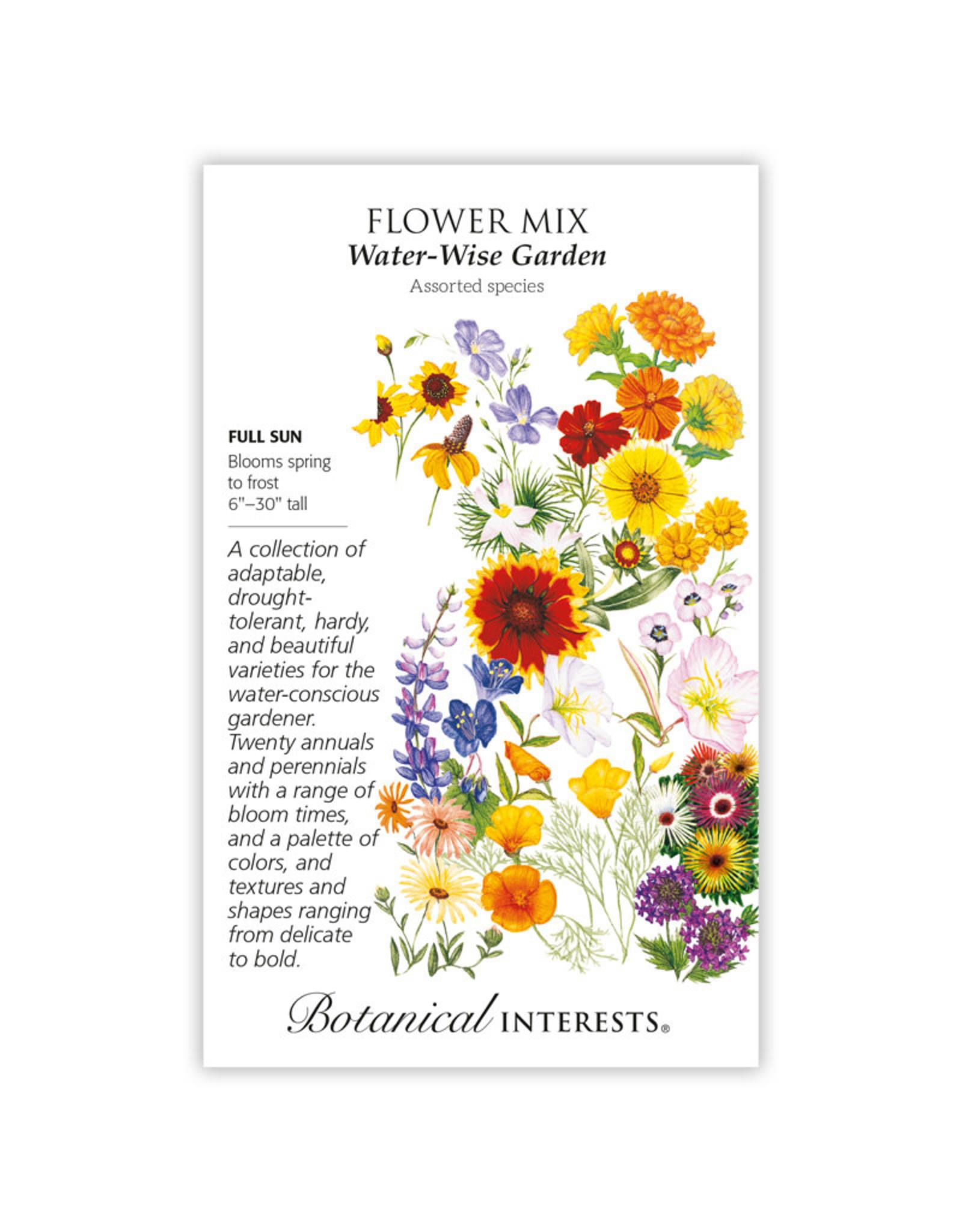 Seeds - Flower Mix Water-Wise Garden, Large