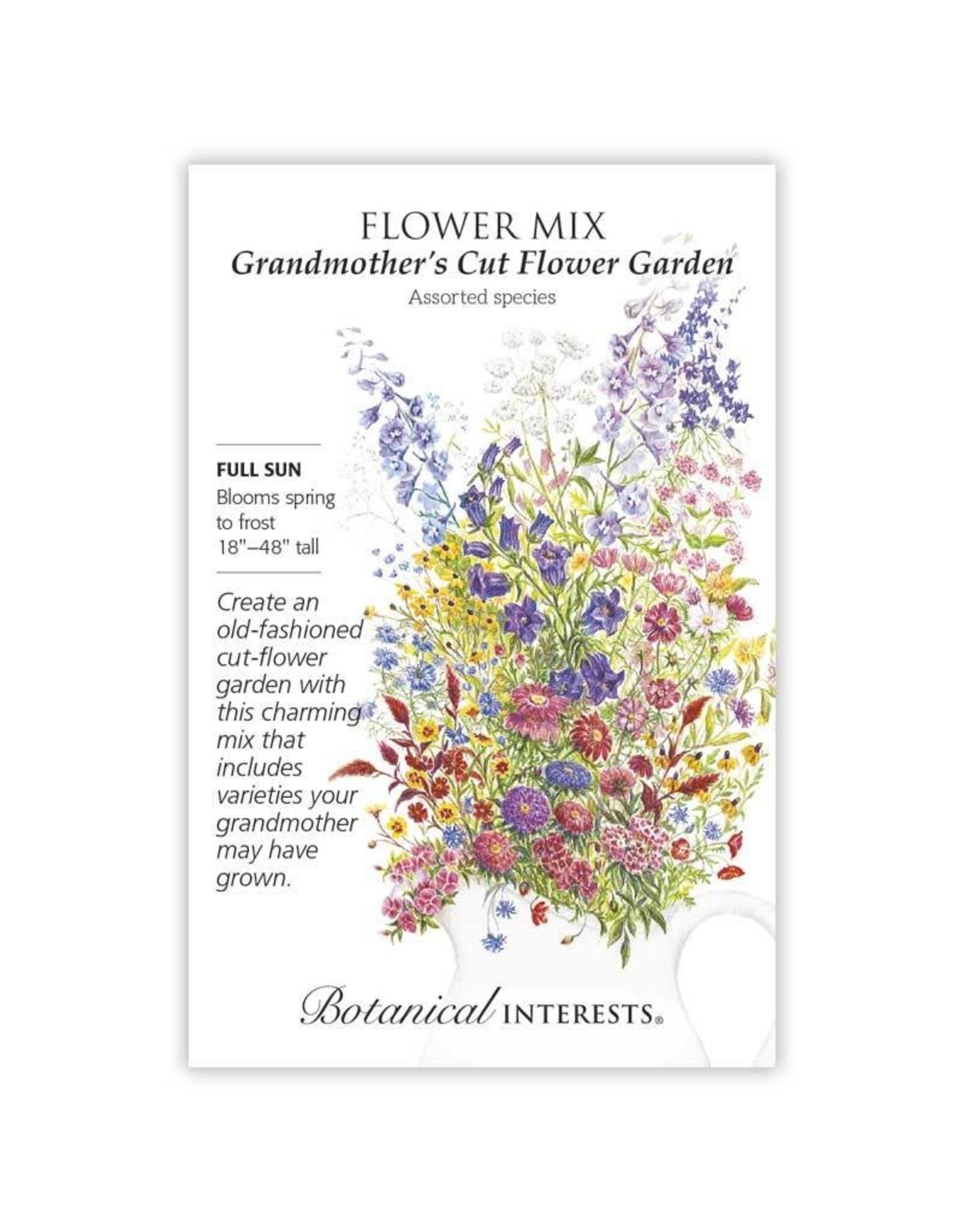 Seeds - Flower Mix Grandmother's Cut Flower Garden