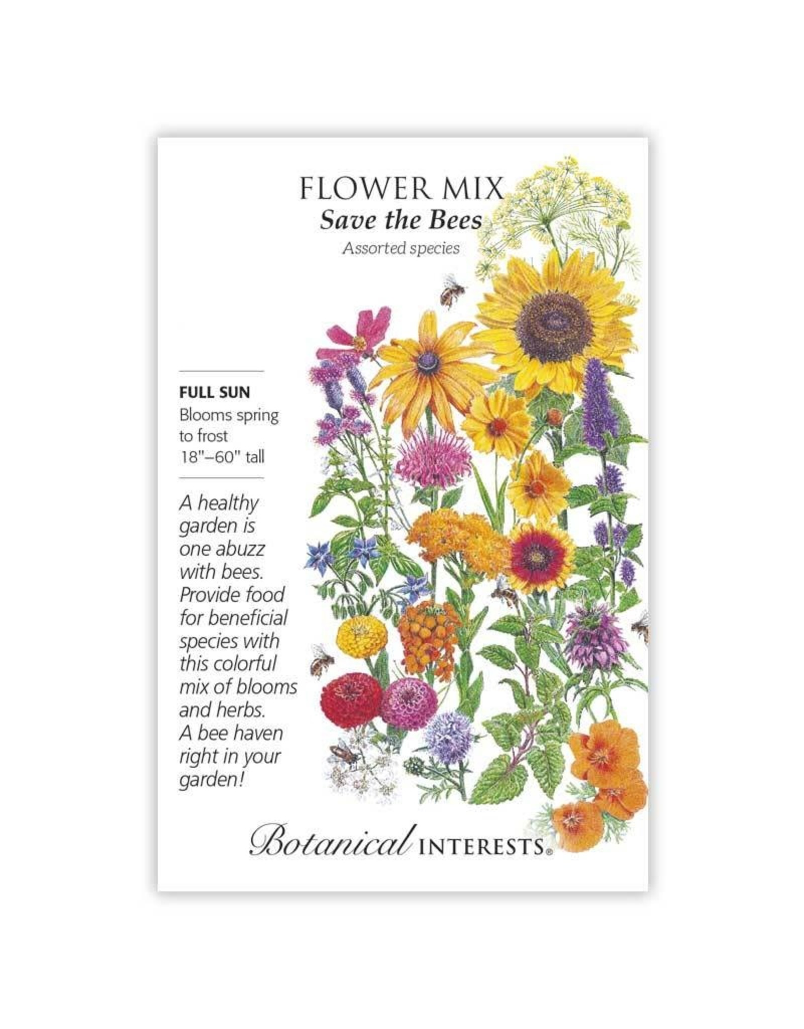 Seeds - Flower Mix Save the Bees