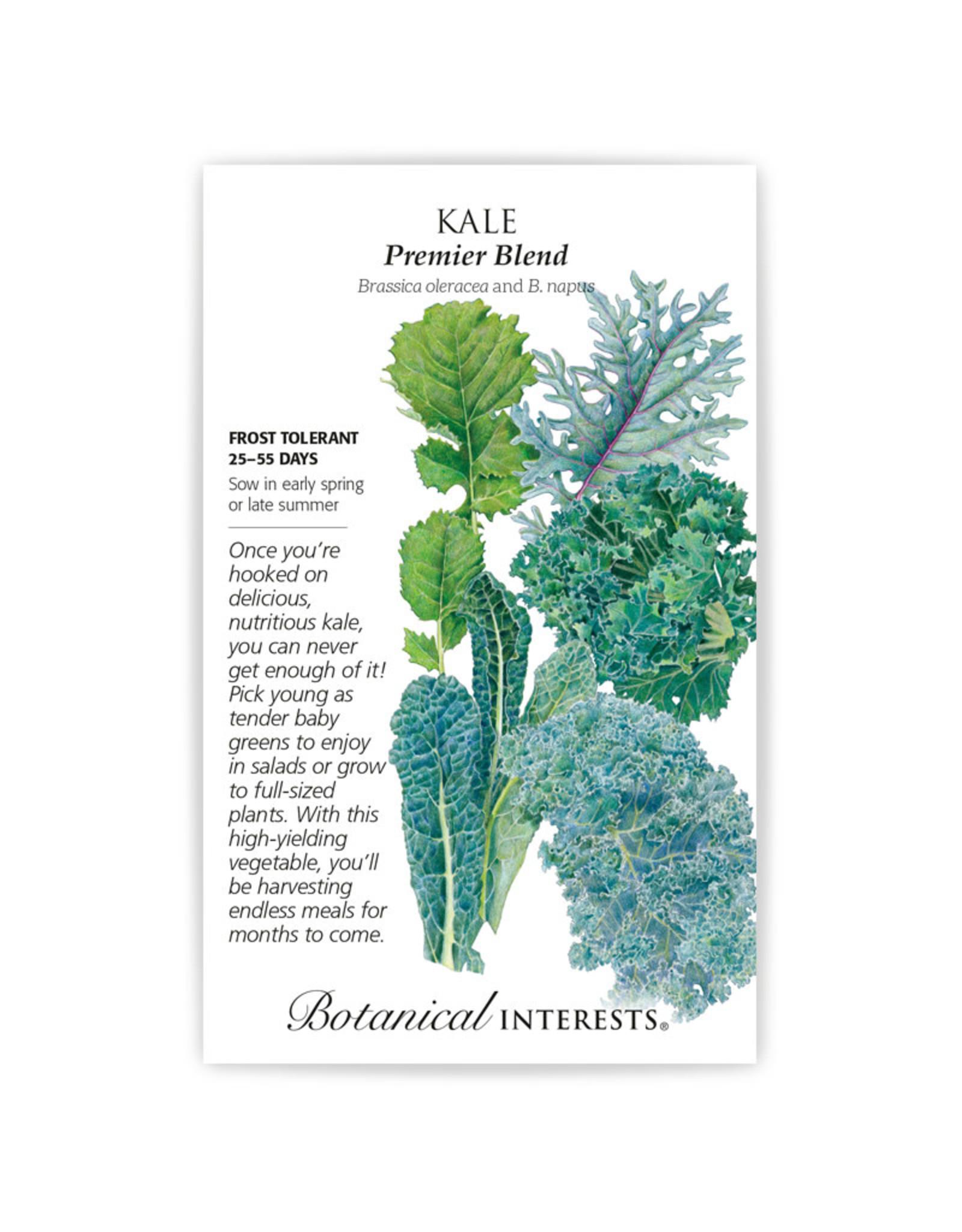Seeds - Kale Premier Blend, Large