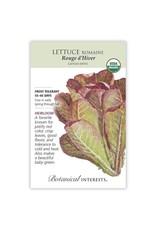 Seeds - Lettuce Romaine Rouge d'Hiver Organic