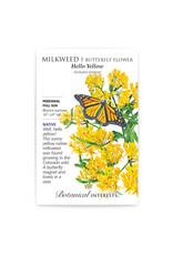Seeds - Milkweed, Butterfly Flower, Hello Yellow