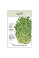 Seeds - Mustard Mizuna Organic