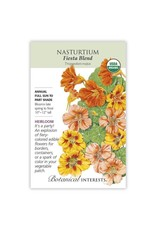 Seeds - Nasturtium Fiesta Blend Org, Large