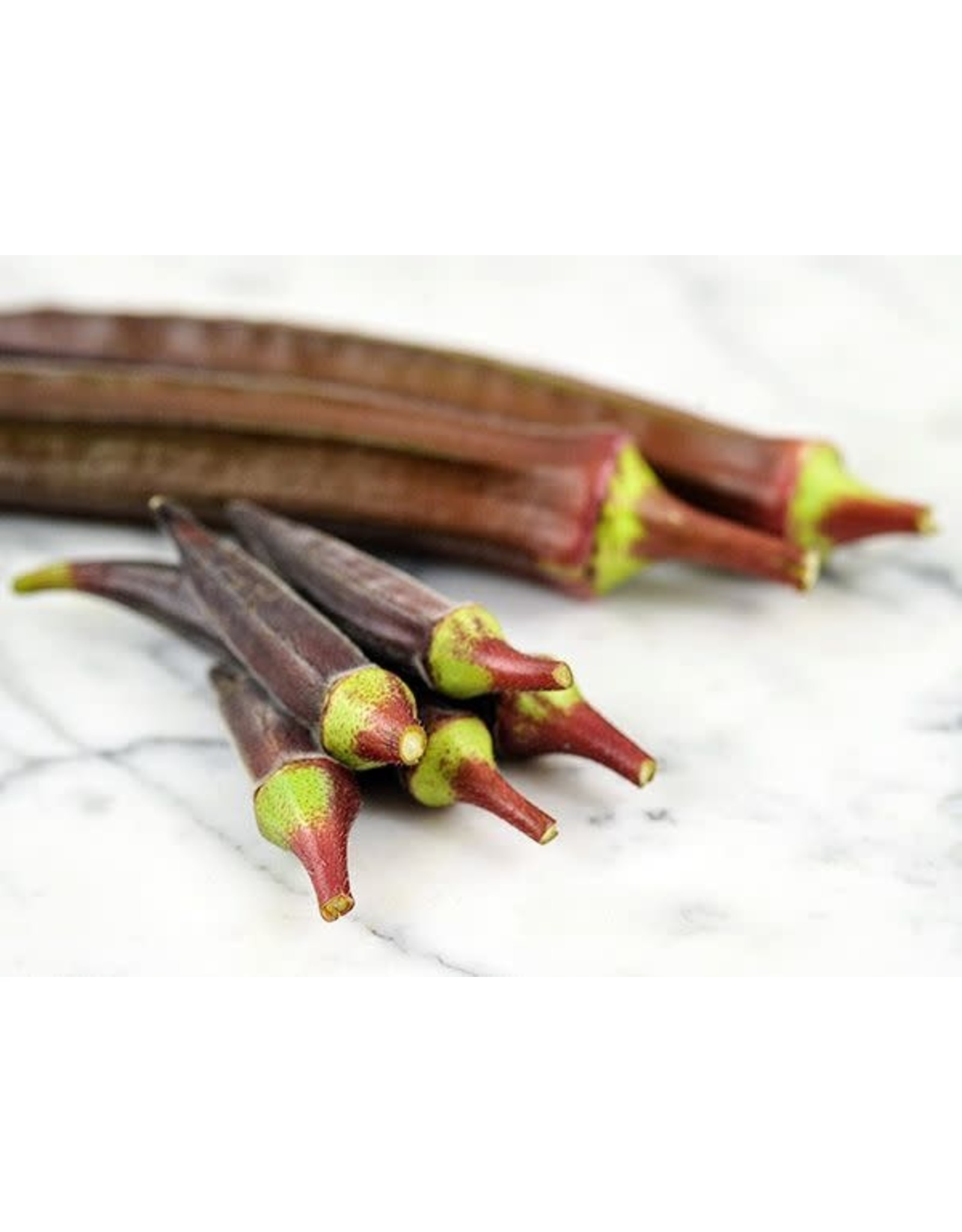 Seeds - Okra Red Burgundy